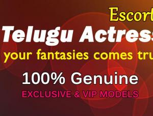 Telugu Actress Escorts - Mens and ladies escort agencies Bangalore 1