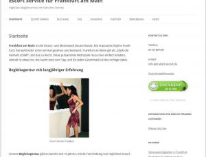Escort Service Frankfurt - Mens and ladies escort agencies Frankfurt 1