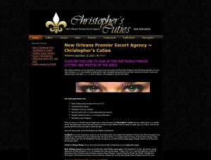 Christophers Cuties - Mens and ladies escort agencies New Orleans 1