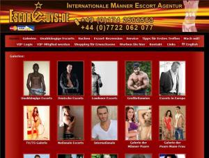 EscortGuys - Gays escort agency London