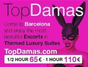 TOPDAMAS - Mens and ladies escort agencies Barcelona 1