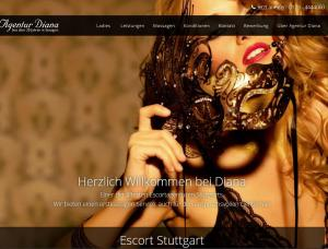 Agentur Diana - Mens and ladies escort agencies Stuttgart 1