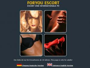 Foryou Escort Agentur - Mens and ladies escort agencies Bremen 1