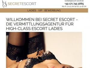 Escort Secret - Mens and ladies escort agency Stuttgart