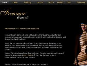 Forever Escort - Mens and ladies escort agencies Berlin 1