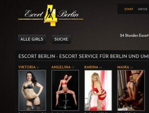 Escort4Berlin - Mens and ladies escort agencies Berlin 1