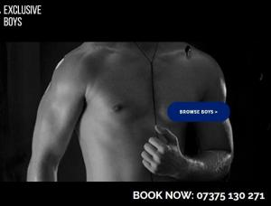 Exclusive Boys - Gays escort agency London