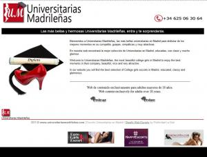 Universitarias Madrid - Mens and ladies escort agencies Madrid 1