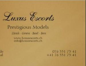 Luxus Escort - Mens and ladies escort agency Zurich