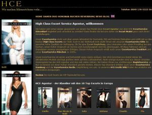 High Class Escort - Mens and ladies escort agencies Cologne 1