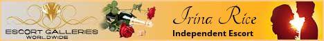 Irina Rice - Independent Escort