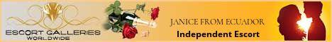 JANICE FROM ECUADOR - Independent Escort