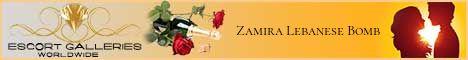 Zamira Lebanese Bomb - Independent Escort