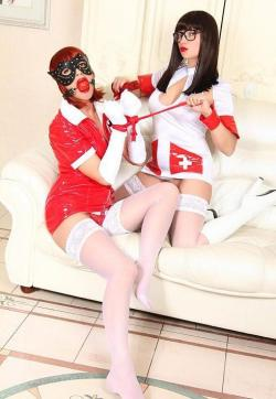 Vika and Olga - Escort ladies Moscow 1