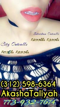 Akasha Taliyah - Escort lady Chicago 4