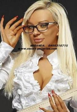Miranda - Escort ladies Ixelles 1