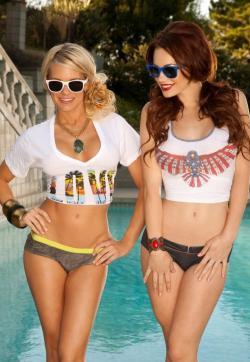 Lena and Sara - Escort duo Moscow 1